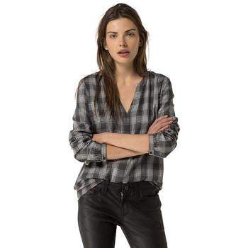 Vêtements Femme Chemises / Chemisiers Tommy Hilfiger DW0DW00823 Gris
