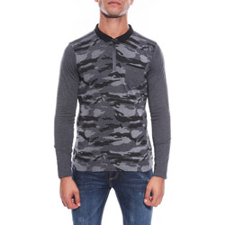 Vêtements Homme T-shirts manches longues Ritchie POLO PALMER Anthracite