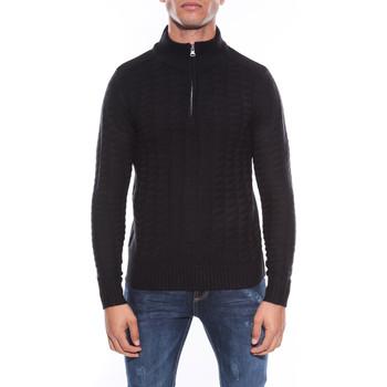 Vêtements Homme Pulls Ritchie PULL COL MONTANT LAKDAR Noir