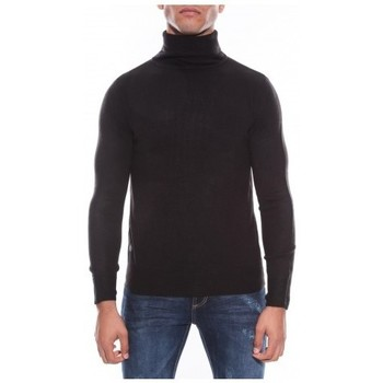 Vêtements Homme Pulls Ritchie Pull col roulé aspect cachemire LOVOU Noir
