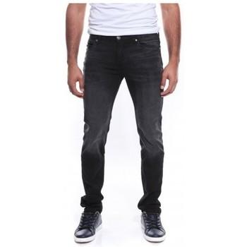 Vêtements Homme Jeans droit Ritchie JEAN SAMTHANN Noir