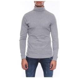 Vêtements Homme T-shirts manches longues Ritchie SOUS PULL WAREN Gris chiné