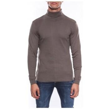 Vêtements Homme T-shirts manches longues Ritchie Sous-pull pur coton organique WAREN Kaki