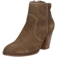 Chaussures Femme Low boots Bibi Lou 640t60 Tronchetti cuir