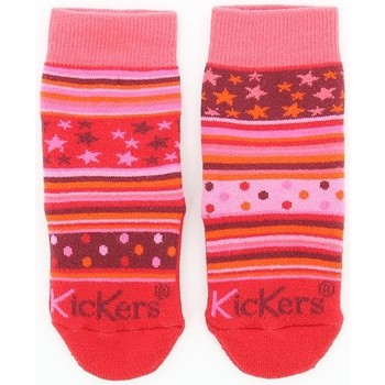 Accessoires Fille Chaussettes Kickers HOMESTAR Rose