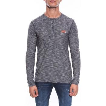 Vêtements Homme T-shirts manches longues Ritchie T-SHIRT JADIS Noir