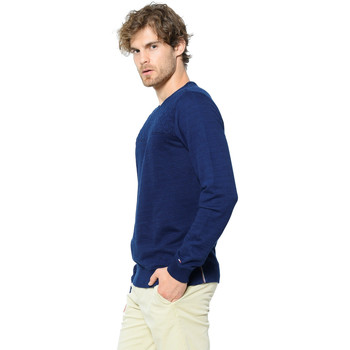 Vêtements Homme Pulls Tommy Hilfiger HAROLD Bleu