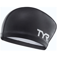 Accessoires Accessoires sport Tyr Silicone Coated long hair Cap black