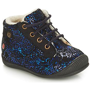 Chaussures Fille Boots GBB NICOLE Bleu
