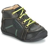 Chaussures Garçon Boots GBB RACINE CTU GRIS-NOIR DPF/RAIZA