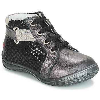 Chaussures Fille Baskets montantes GBB RICHARDINE Noir / Gris