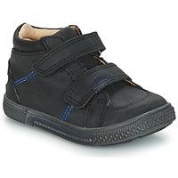 Chaussures Garçon Baskets montantes GBB ROBERT Noir