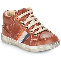 Chaussures Garçon Boots GBB ANGELITO Marron