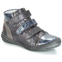 Chaussures Fille Baskets montantes GBB RAFAELE Argenté