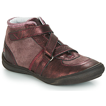 Chaussures Fille Baskets montantes GBB RIQUETTE Marron / Bronze