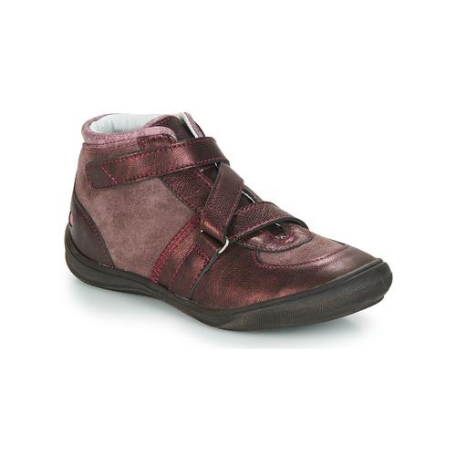 Chaussures Fille Baskets montantes GBB RIQUETTE Marron / Bronze