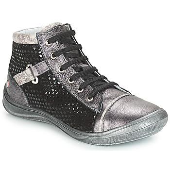 Chaussures Fille Boots GBB ROMIE Gris / Noir
