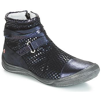 Chaussures Fille Boots GBB ROCHELLE Bleu