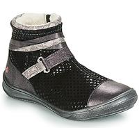 Chaussures Fille Bottes ville GBB ROCHELLE VTE GRIS DCH/REGINA
