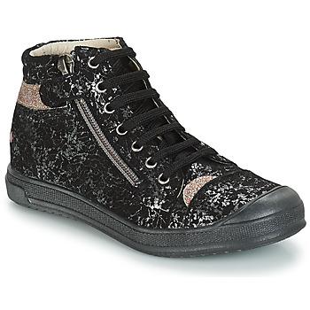 Chaussures Fille Sacs Bandoulière GBB DESTINY Noir / Argenté