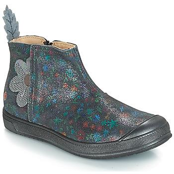 Chaussures Fille Bottes ville GBB ROMANE Gris