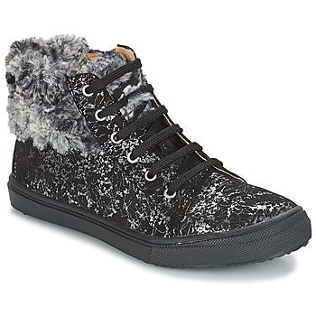 Chaussures Fille Boots GBB ROBERTA VTS NOIR IMPRIME DPF/BASKET