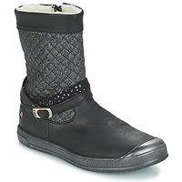 Chaussures Fille Bottes ville GBB ROLANDE Noir