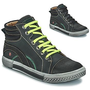 Chaussures Garçon Boots GBB RALPH CTU GRIS-NOIR DPF/STRYKE