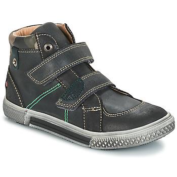 Chaussures Garçon Boots GBB RANDALL CTU GRIS-NOIR DPF/STRYKE