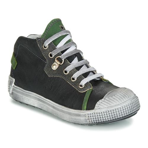 Chaussures Garçon Baskets montantes GBB RONALD Gris / Vert