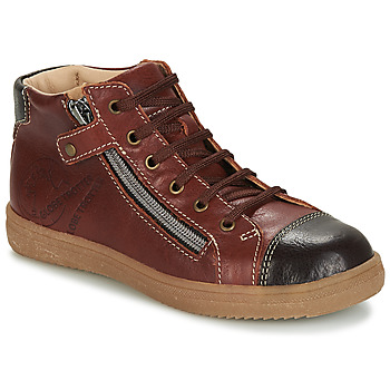 Chaussures Garçon Boots GBB NICO Marron