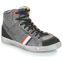 Chaussures Garçon Baskets montantes GBB ANGELO Gris