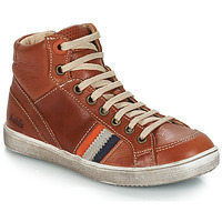 Chaussures Garçon Baskets montantes GBB ANGELO Marron