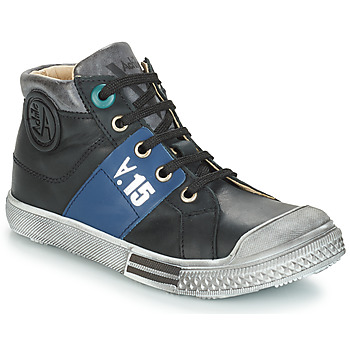 Chaussures Garçon Bottes ville GBB RUFINO Noir