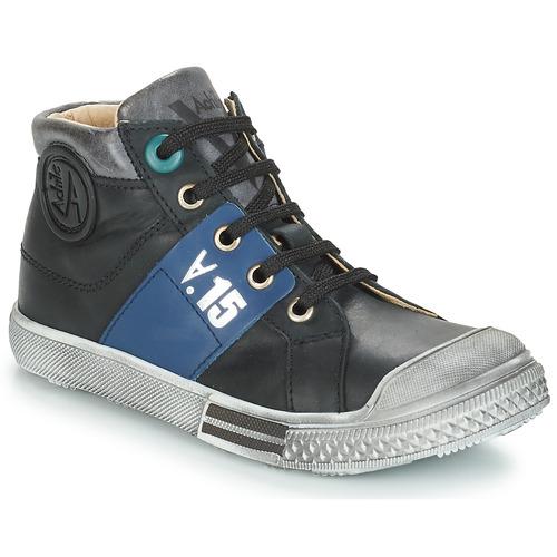 Chaussures Garçon Boots GBB RUFINO Noir