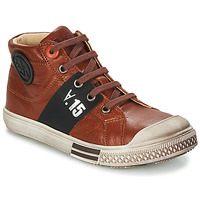 Chaussures Garçon Boots GBB RUFINO Marron