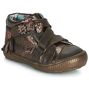 Chaussures Boots Catimini ROQUETTE VTE MARRON-CUIVRE DPF/2852