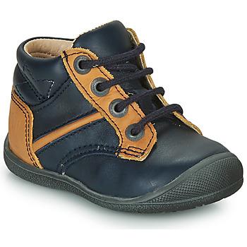 Chaussures Garçon Boots Catimini RATON VTE MARINE-OCRE DPF/KIMBO