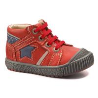 Chaussures Garçon Boots Catimini RENARD VTE ROUGE-MARINE DPF/LINUX
