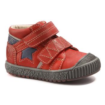 Chaussures Garçon Boots Catimini RADIS VTE ROUGE-MARINE DPF/LINUX