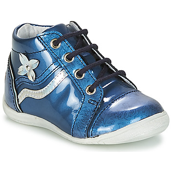 Chaussures Fille Boots GBB SHINA Bleu
