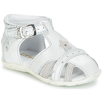 Chaussures Fille Sandales et Nu-pieds GBB SUZANNE VTE GRIS-ARGENT DPF/ZABOU