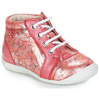 Chaussures Fille Boots GBB SIDONIE VTE CORAIL-IMPRIME DPF/KEZIA