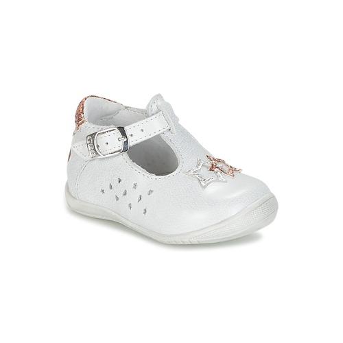 Chaussures Fille Ballerines / babies GBB SEVERINE Blanc