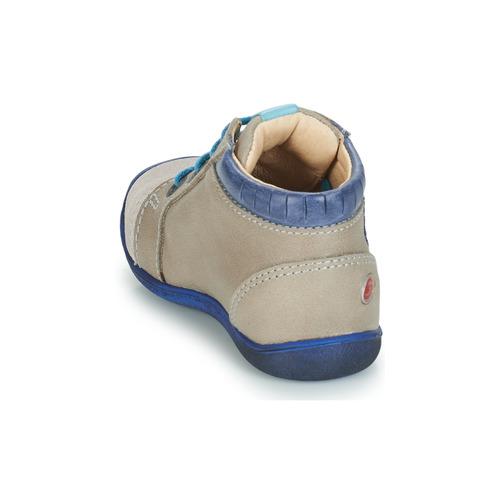 Chaussures Gbb Boots BeigeBleu Garçon Silvio KJTlF1c