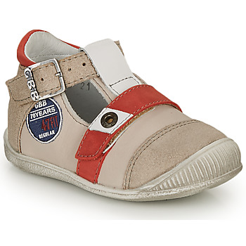 Chaussures Garçon Sandales et Nu-pieds GBB STANISLAS Beige / Rouge