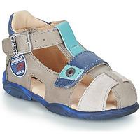 Chaussures Garçon Sandales et Nu-pieds GBB SULLIVAN Gris / Bleu