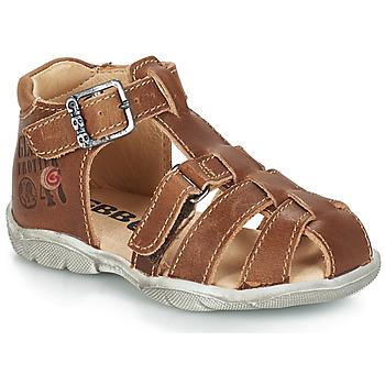 Chaussures Garçon Sandales et Nu-pieds GBB PRIGENT VTE FAUVE DPF/FILOU
