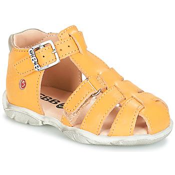 Chaussures Garçon Sandales et Nu-pieds GBB PRIGENT VTE JAUNE DPF/FILOU