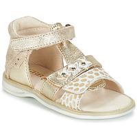 Chaussures Fille Sandales et Nu-pieds GBB SYLVIE Or